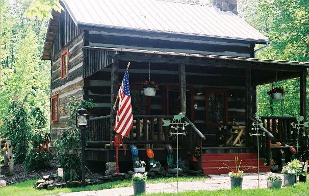 Parkman ohio 44080 ma 39 s pa 39 s cabin for Outdoor furniture zanesville ohio